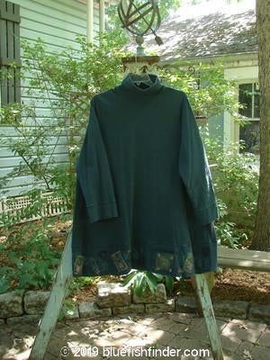 Vintage Blue Fish Clothing 1999 Shirtale Turtleneck Spirit Peacock Size 2- Bluefishfinder.com
