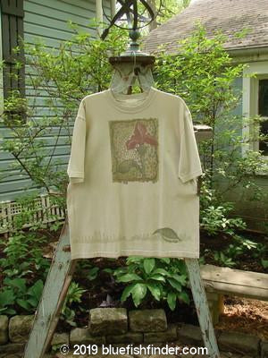 Vintage Blue Fish Clothing 1999 Short Sleeved Tee Orchid Dust Size 0- Bluefishfinder.com
