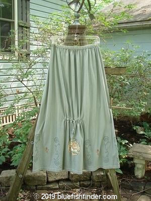 Vintage Blue Fish Clothing 1999 Tie In Skirt Circle Flower Stone Grey Size 2- Bluefishfinder.com