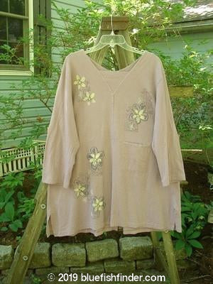 Vintage Blue Fish Clothing 2000 4 Vent Top Daisy Pale Purple Size 1- Bluefishfinder.com
