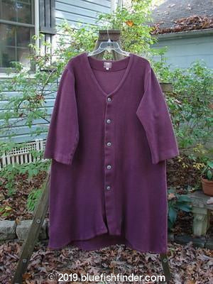 Vintage Blue Fish Clothing 2000 Celtic Moss Hobo Coat Murple Size 1- Bluefishfinder.com
