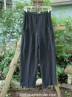 Vintage Blue Fish Clothing 2000 NWT Thermal Pathway Pant Black Size 0- Bluefishfinder.com