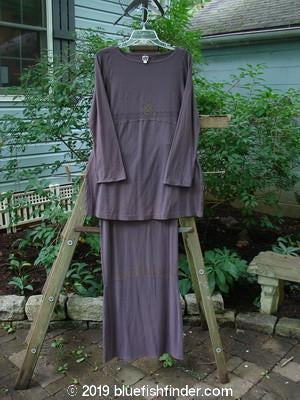 Bluefishfinder.com - 2000 Rayon Lycra Seekers Tunic Narrow Skirt Duo Aubergine Size 1