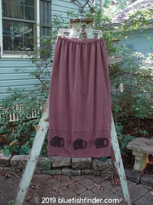 Vintage Blue Fish Clothing 2000 Interlock Slieve Skirt Celtic Loam Size 2- Bluefishfinder.com