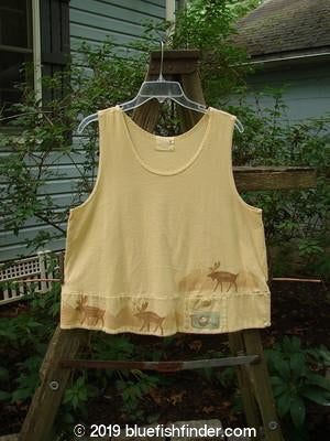 Vintage Blue Fish Clothing 2000 Sun Tank Out West Plantain Size 0- Bluefishfinder.com