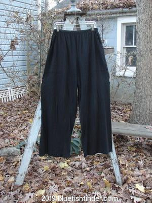 Vintage Blue Fish Clothing Barclay Side Square Pant Black Size 2- Bluefishfinder.com
