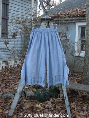 Vintage Blue Fish Clothing Barclay Linen Crop Tab Pant Moongrass Sky Size 2- Bluefishfinder.com
