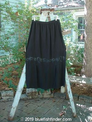Vintage Blue Fish Clothing 2000 Market Skirt Black Celtics Size 2- Bluefishfinder.com