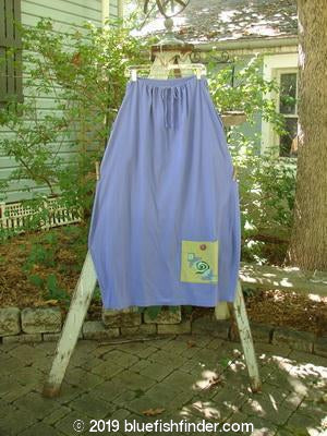 Vintage Blue Fish Clothing 1997 Big Pocket Skirt Swirl Skylark Size 1- Bluefishfinder.com