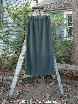 Vintage Blue Fish Clothing 1993 Waffle Straight Skirt Moss Size 2- Bluefishfinder.com
