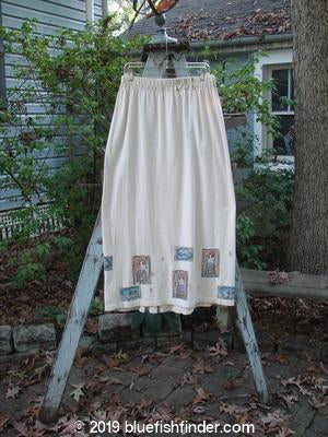 Vintage Blue Fish Clothing 1995 Kick Pleat Skirt Chairs Champagne Size 2- Bluefishfinder.com