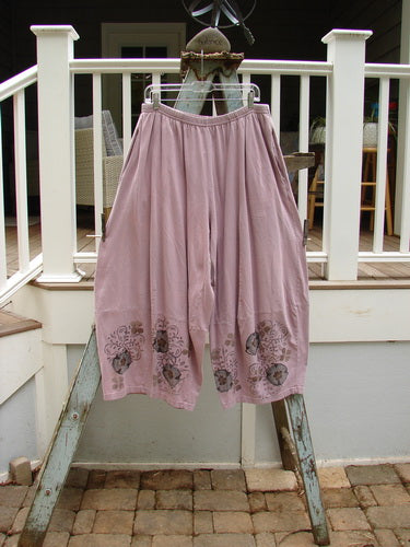 Vintage Blue Fish Clothing Barclay 4 Square Pant Garden Vine Mallow Size 1- Bluefishfinder.com