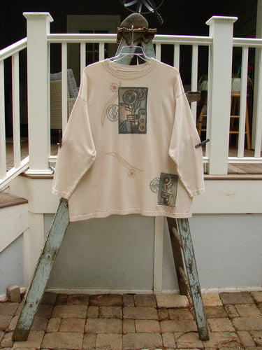 Vintage Blue Fish Clothing 1995 Long Sleeved Tee Lolly Flower China Size 2- Bluefishfinder.com
