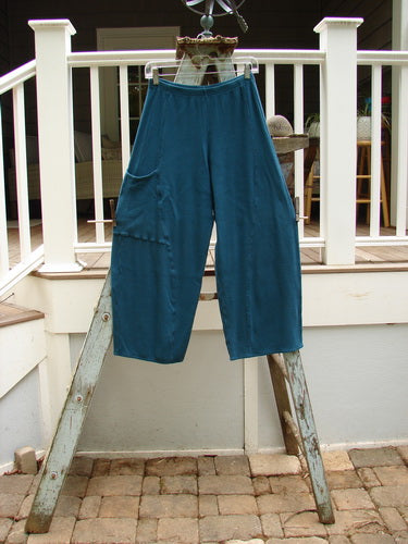 Vintage Blue Fish Clothing Barclay Thermal Curve Pocket Pant Teal Size 0- Bluefishfinder.com