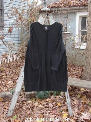 Vintage Blue Fish Clothing 1998 Merino Aubrey Dress Black Size 1- Bluefishfinder.com