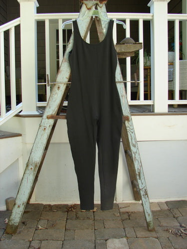 Vintage Blue Fish Clothing 1992 Danskin Sleeveless Bodysuit Black Size 1- Bluefishfinder.com