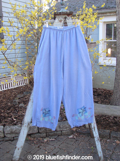 Vintage Blue Fish Clothing 1997 Cashmere Pant Sealife Skylark Size 2- Bluefishfinder.com