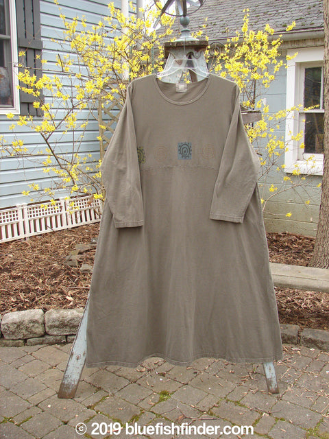 Vintage Blue Fish Clothing 1999 Curved A Line Dress Gear Mud Size 2- Bluefishfinder.com