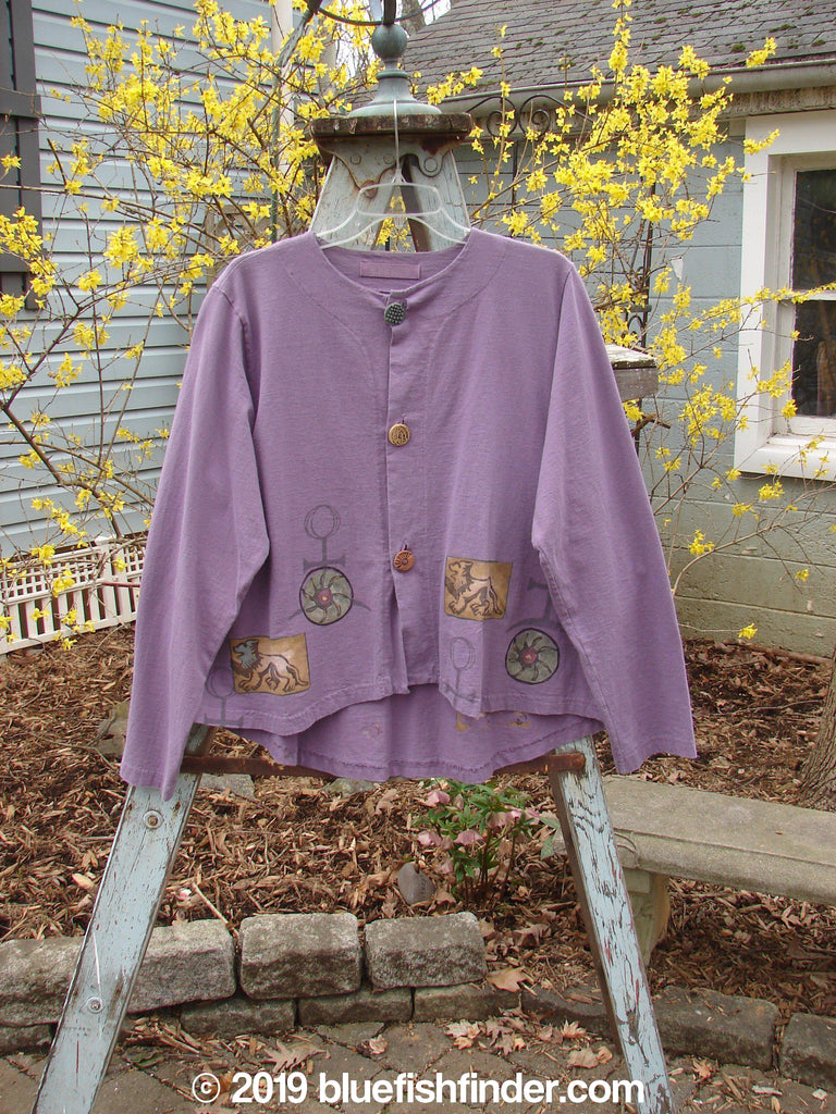Vintage Blue Fish Clothing 1998 Alchemy Jacket Lion Modena Size 2- Bluefishfinder.com
