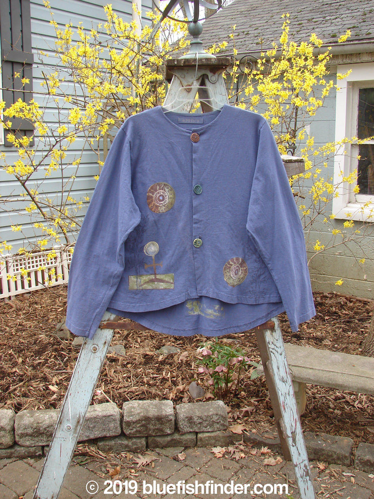 Vintage Blue Fish Clothing 1998 Alchemy Jacket Celtic Orion Size 2- Bluefishfinder.com