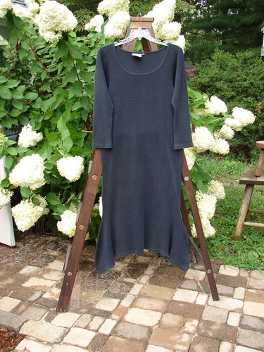 Vintage Blue Fish Clothing 1992 Thermal Pedestal Dress Black Size 1- Bluefishfinder.com