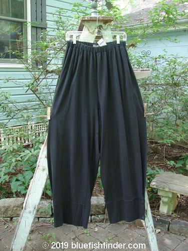 Vintage Blue Fish Clothing 2000 NWT Triangle Pleat Pant Black Size 2- Bluefishfinder.com