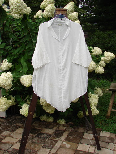Vintage Blue Fish Clothing Barclay Batiste Flutter Tunic White Size 3- Bluefishfinder.com