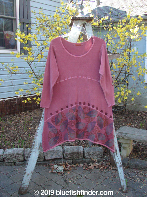 Vintage Blue Fish Clothing Barclay Thermal 3 Tier Pullover Rose Leaf Size 1- Bluefishfinder.com