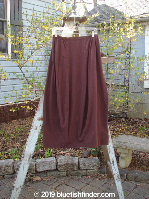 Vintage Blue Fish Clothing 1998 Merino Pria Skirt Raisin Size 1- Bluefishfinder.com