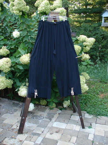 Vintage Blue Fish Clothing Barclay Rippie Bottom Panel Pant Unpainted Black Size 2- Bluefishfinder.com