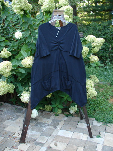 Vintage Blue Fish Clothing Barclay NWT Vector Tunic Unpainted Black Size 2- Bluefishfinder.com