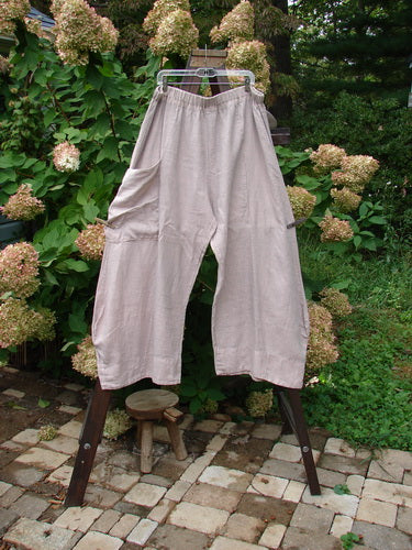 Vintage Blue Fish Clothing Barclay Linen Side Pocket Promenade Pant Unpainted Mallow Size 2- Bluefishfinder.com