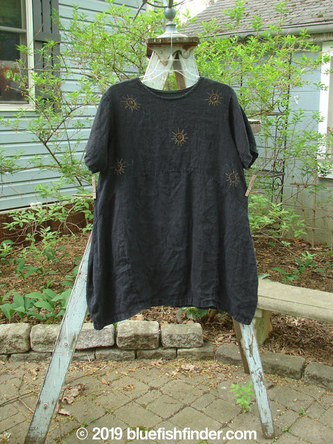 Vintage Blue Fish Clothing 1997 Urchin Dress Sunray Ebony Size 1- Bluefishfinder.com