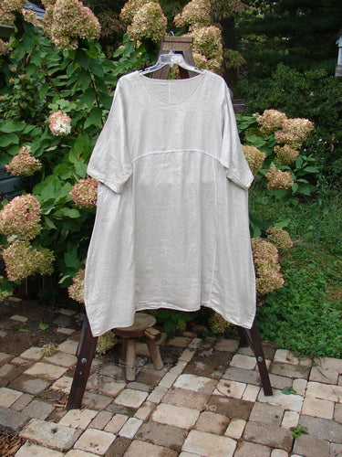 Vintage Blue Fish Clothing Barclay Linen Shimmer Reverse Stitch Urchin Dress Sand Shell Size 2- Bluefishfinder.com