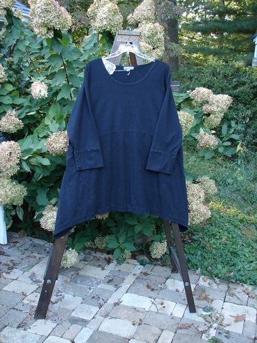 Vintage Blue Fish Clothing Barclay NWT Cotton Lycra Igloo Tunic Dress Black Noir Size 2- Bluefishfinder.com