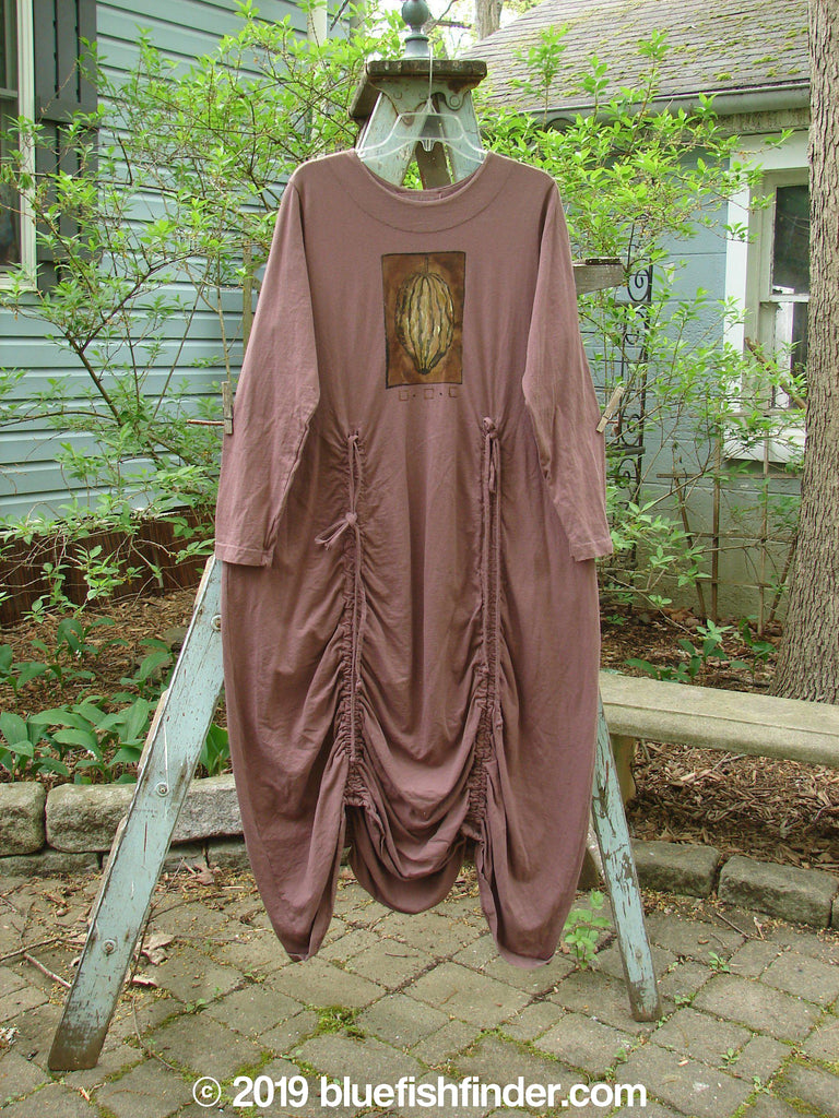Vintage Blue Fish Clothing 1998 Cornucopia Dress Harvest Time Ochre Size 2- Bluefishfinder.com
