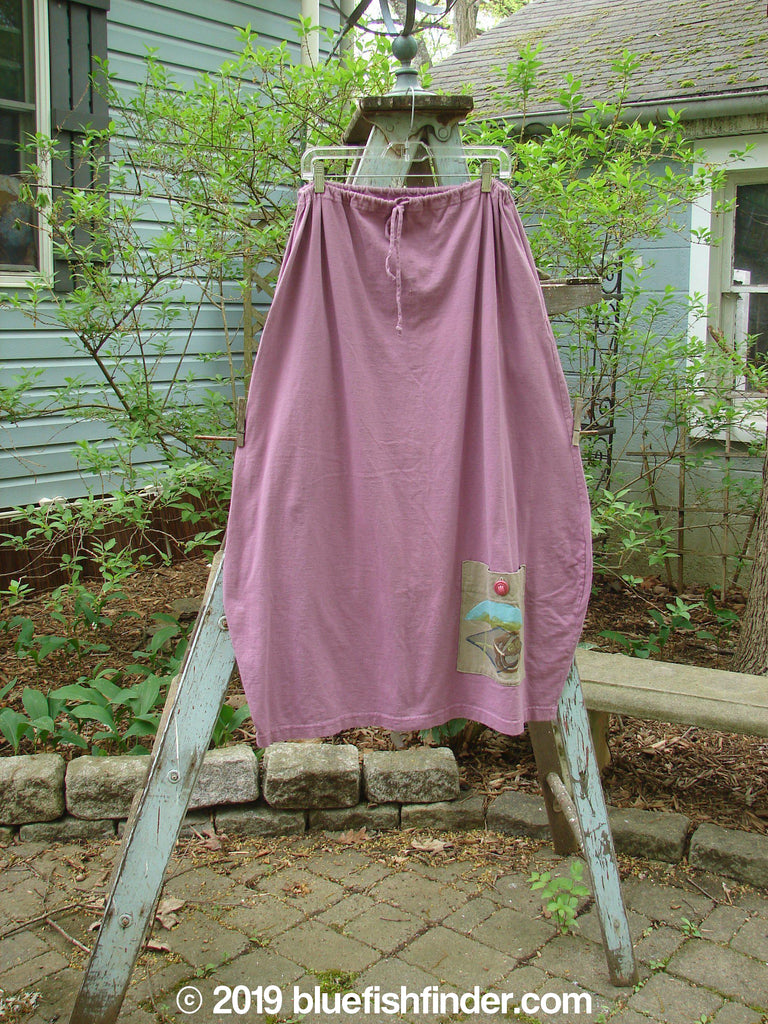 Vintage Blue Fish Clothing 1997 Big Pocket Skirt Sunset Crocus Size 1- Bluefishfinder.com