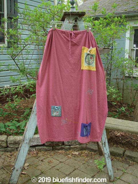 Vintage Blue Fish Clothing 1996 Destination Skirt Travel Hibiscus Size 2- Bluefishfinder.com