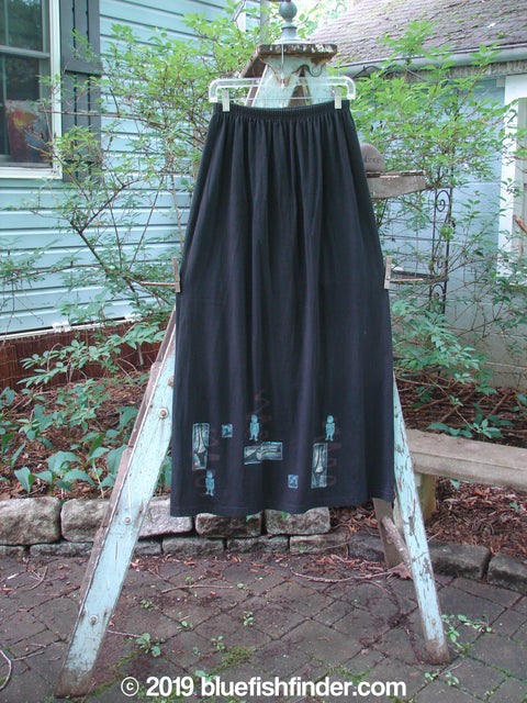 Vintage Blue Fish Clothing 1996 Straight Skirt Village People Storm Size 2- Bluefishfinder.com