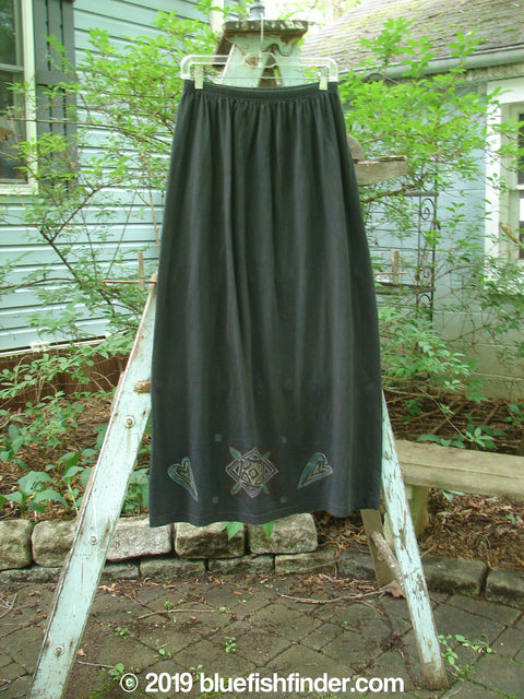Vintage Blue Fish Clothing 1996 Straight Skirt Heart Storm Size 2- Bluefishfinder.com