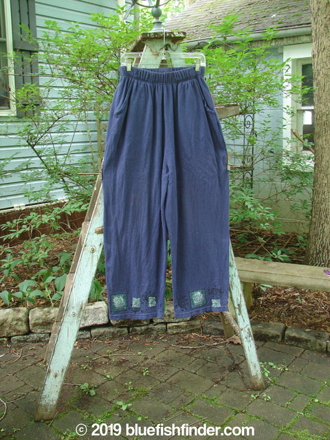 Vintage Blue Fish Clothing 1995 Fitzgerald Pant Pebble Royal Orchid Size 1- Bluefishfinder.com