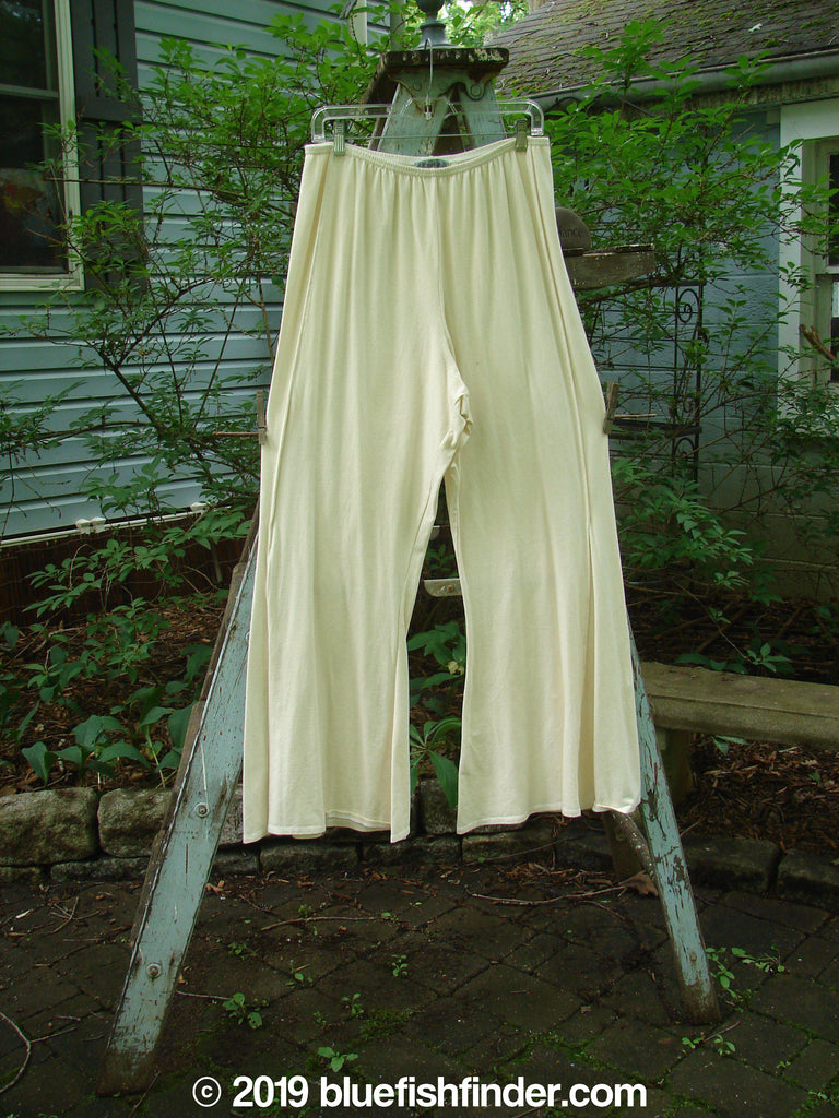 Vintage Blue Fish Clothing Barclay Fan Bottom Pant Creme Size 2- Bluefishfinder.com