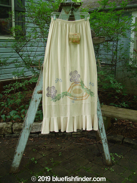 Vintage Blue Fish Clothing 1996 NWT Spring Laughter Skirt Five Petal Birch Bark Size 2- Bluefishfinder.com