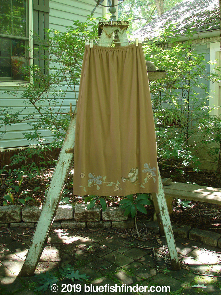 Vintage Blue Fish Clothing 1995 Straight Skirt Flower Pot Skirt Mudpie Size 1- Bluefishfinder.com