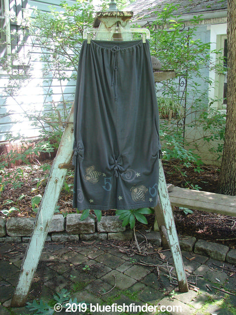 Vintage Blue Fish Clothing 1994 Tool Skirt Bumble Bee Blue Coal Size 1- Bluefishfinder.com