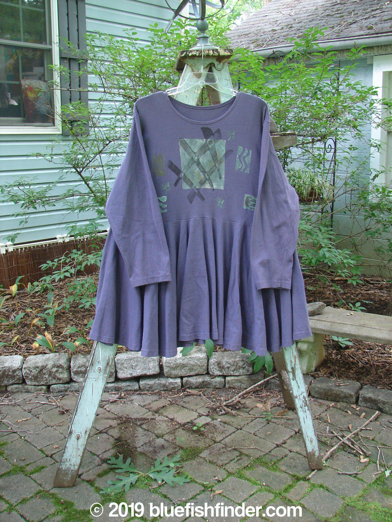 Vintage Blue Fish Clothing 1994 Dance Dress Ric Rack Spruanceberry OSFA- Bluefishfinder.com
