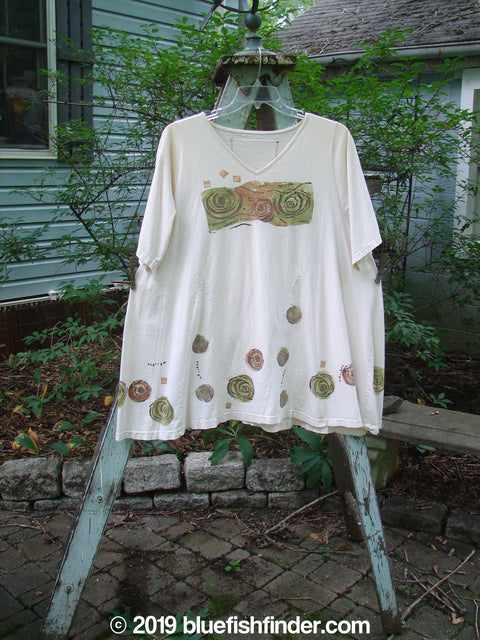 Vintage Blue Fish Clothing 1993 Vagabond Dress Wind Tea Dye OSFA- Bluefishfinder.com