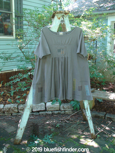 Vintage Blue Fish Clothing 2000 Café Dress Directional Iron Size 2- Bluefishfinder.com