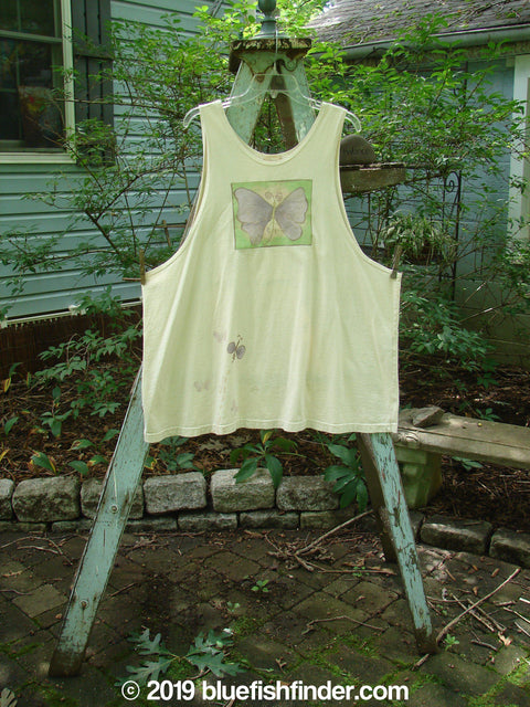 Vintage Blue Fish Clothing 1999 Tank Top Butterfly Dust Size 2- Bluefishfinder.com