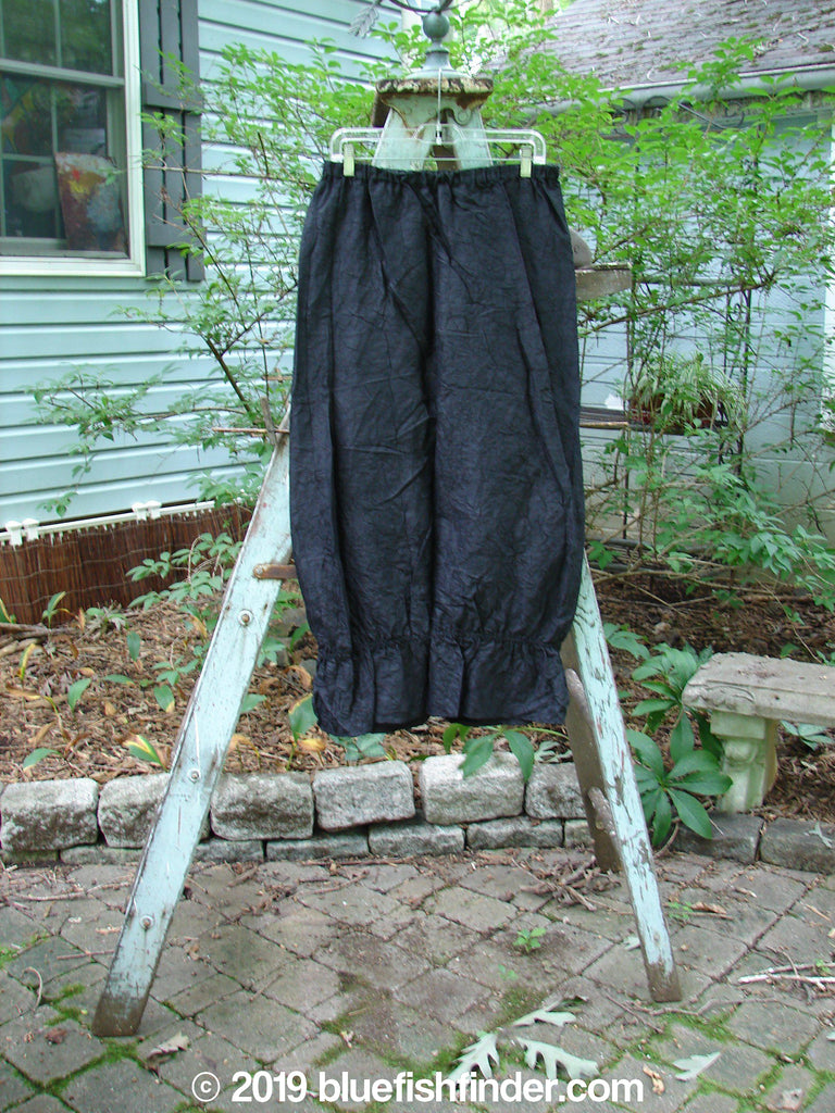 Vintage Blue Fish Clothing 2000 Shaunting Silk Crushed Skirt Black Size 1- Bluefishfinder.com